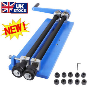"""18"""" Bead Roller Former Swager Rotary Swaging Machine 460mm 1.2mm Roll Sets Tool"""