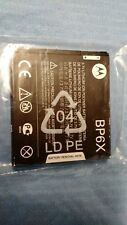 MOTOROLA OEM BP6X BATTERY FOR DROID A855 A955 PRO A957 CLIQ XT MB200 MB501