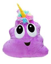 Poo-Nicorns - 40cm Plush Soft Toy Pillow - Fawna - Purple - BNWT - 80932