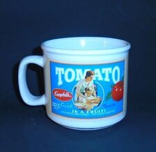Campbell Soup Collectibles Tomato Is A Fruit Soup Ceramic Mug Sunny Good 2005