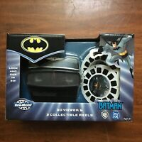 BATMAN ANIMATED VIEW MASTER 3D VIEWER & 3 Collectible Reels NEW SEALED RARE 2003