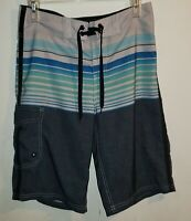 Men's Size 28 Mossimo Supply Co Swimsuit Board Shorts Swim Trunks Surf Beach