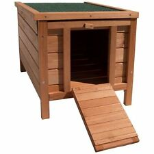 Home Discount Wooden Pet Rabbit House Hutch Guinea Pig Animal Outdoor Hide