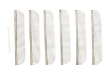 """ABN RV Bug Vent Screen 1.5"""" x 8.1""""with Installation Tool 6-Pack"""