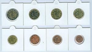 Belgique 1 Cent Jusqu'à Set de Monnaies Légales (Choisissez Deux : 1999 - 2017)