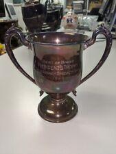 L👀K Black, Starr & Frost STERLING Silver 1949 Weimaraner Specialty Show Trophy