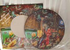 Iron Maiden Lp Vinyl Picture disc shape  Heavy Metal Death Rock Speed Trash