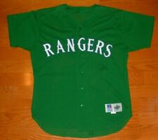 JUAN GONZALEZ TEXAS RANGERS RARE GAME WORN USED ST. PATRICK'S DAY JERSEY MEARS
