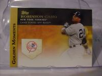 2012 Topps Golden Moments Baseball Card Singles ##GM01 to #GM50  YOU PICK