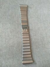 TISSOT VINTAGE WATCH BRACELET STAINLESS STEEL STRAP BRACCIALE 20mm