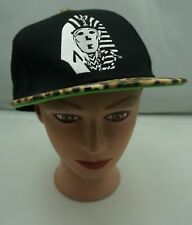 Last Kings Hat Black Stitched Adjustable Baseball Cap Pre-Owned ST228