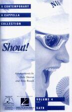 Contemporary A Cappella Songbook Collection 4 Shout! Noten für Chor SATB