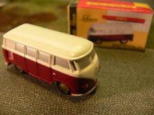 Schuco Piccolo VW T1 Bus weiß/dunkelrot 01311