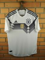 Germany Authentic Jersey 2018 2019 Home MEDIUM Shirt Player Issue BR7313 Adidas