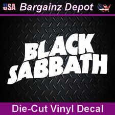 Vinyl Decal ... BLACK SABBATH ...  Car Laptop Sticker Vinyl Decal