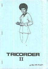 """Star Trek TOS Fanzine """"Tricorder 2, 7, 8, 10"""" GEN British"""