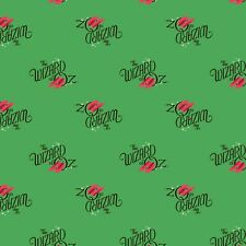 Wizard of Oz Logo Ruby Slippers Material Fabric