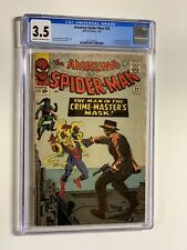 Amazing Spider-man 26 cgc 3.5 cr/ow pages marvel 1965