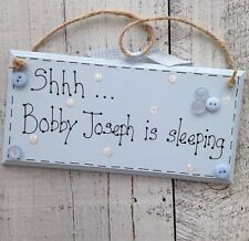 Rectangle Children's Baby Decorative Plaques & Signs