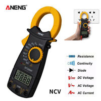 ANENG DT-3266F Digital Clamp Meter Multimeter Handheld RMS AC/DC Mini Resistanc