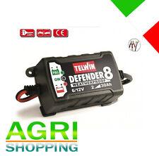 Telwin Caricabatterie Mantenitore di carica 6-12V elettronico auto Defender moto
