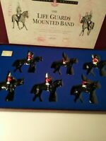 BRITAINS LIMITED EDITION SET 2 THE LIFE GUARDS MOUNTED BAND box NO: 1754