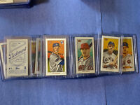2020 Topps T206 Series 1 - Complete Set 50 Cards PIEDMONT BACK Sleeved Toploaded