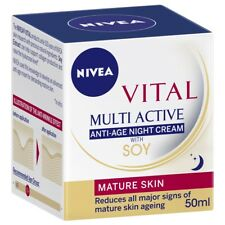 Nivea Vital Multi Active Anti Age Night Cream with Soy 50ml