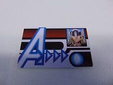 HEROCLIX MARVEL AVENGERS THOR ID CARD PROMO L.E.  NEW!!! HC58