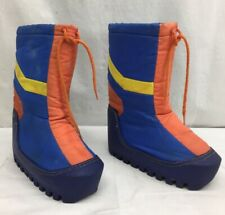 Vintage, Rainbow, ORIGINAL, MOON BOOTS! Made in Korea,1970s 70s, W 7 - 8, M 5 -6