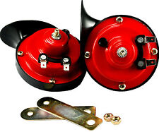 2pcs 12V Loud Car Auto Electric Vehicle Horn Snail Horn Sound Level 110dB USA