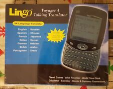 New Lingo Voyager 4 Talking Translator 14 Language, metric & currency conversion