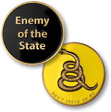 Enemy of the State - Don't Tread On Me - 'Merica Challenge Coin NEW