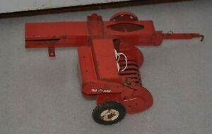1960's Square Baler With Smooth Tires By Tru-Scale  Played With Condition !
