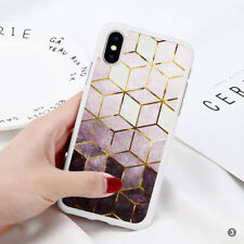 Marble Phone Case Cover For iPhone Samsung Huawei OnePlus ETC 110-3