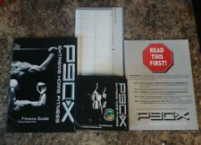 P90x Extreme Home Fitness Workouts 13 DVD Set with fitness guide and training