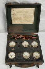Vintage Sterling Manufacturing Company R 522 Tube Tester Un Tested Read