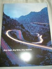 BMW X5 brochure 1999 ed 1 large format USA market