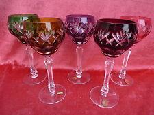 5 noble,antiguo__cristal romano__lijado__Annahütte__