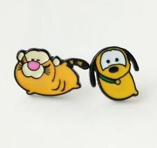 2pcs Disney Pluto tigger metal earring ear stud earrings studs unisex