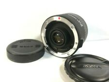 【MINT】Sigma EX 2x APO TELE CONVERTER Lens For Canon from japan #342