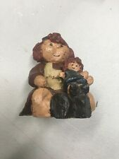 Sarah's Attic Cupcake With Raggedy Ann Figurine Collectible Vintage