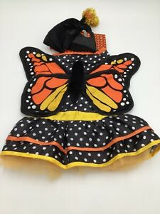 First Class Fido Butterfly Dress Halloween Dog Costume Sz M