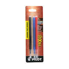 """Pilot Refill For Frixion Erasable Gel Ink Pen, Assorted, 3/pk, 77335"""