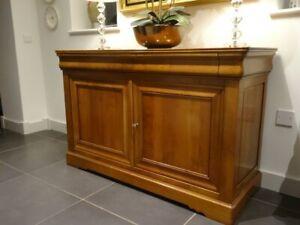 GRANGE Cherry Wood 2 Drawer 2 Cupboard Sideboard