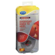 Scholl In Balance Everyday Knee to Heel Orthotic Insole MEDIUM Size 7-8.5