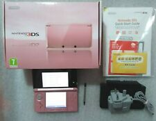 Nintendo 3DS Pearl Pink Handheld System **well looked after**