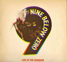 "NINE BELOW ZERO ""LIVE AT THE MARQUEE"" PUB ROCK LP A&M 68515"
