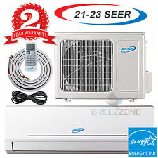 12000 Btu 20.5 SEER Ductless Mini Split Air Conditioner Heat Pump DC Inverter