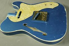 MJT Official Custom Order Vintage Nitro Double Bound Guitar Body VTL Mark Jenny